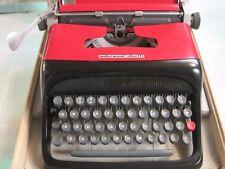 Vintage 1960s UNDERWOOD OLIVETTI STUDIO 44 Portable Manual Typewriter Case/Warra