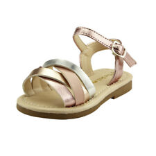 Cute Baby Girl's Shoes Strap Sandal Toddler Size Comfy Pink Or Silver
