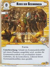 Warhammer 40000 Conquest LCG-La guerra dei simpatia #135 - l'ultima mossa