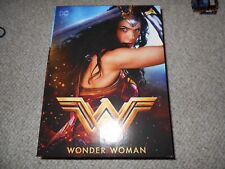 Wonder Woman Amazon LTD Edition Blu-Ray DVD w/Wonder Woman Figurine
