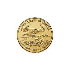 2018 - $5 1/10oz Gold American Eagle BU