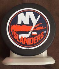 New York NY Islanders Hockey Puck Bank 1999 GreenPoint Nassau Coliseum Give Away