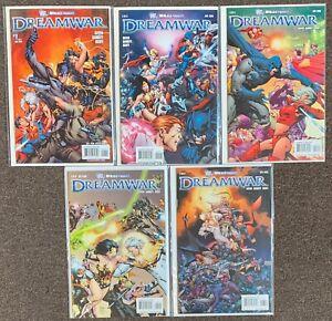 Dream War #1,2,3,5,6 DC Comics Wildstorm Keith Giffen 2008 lot
