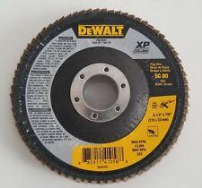 """DEWALT DWA 8282 4-1/2"""" X 7/8"""" 80 G T29 XP CERAMIC FLAP DISCS"""
