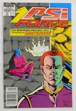 VINTAGE! Marvel Comics Psi-Force #27 (1989)-Heatseeker