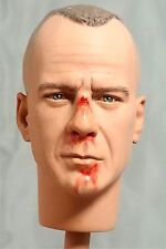 1:6 Custom Head of Bruce Willis as beat up Butch Coolidge from Pulp Fiction