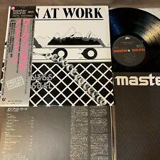 MEN AT WORK Business As Usual JAPAN MASTER SOUND LP RECORD 30.3P-432 OBI +INSERT