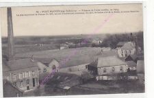 CPA 08350 PONT MAUGIS Filature de laine cardée en 1914