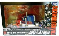 TAKARA TOMY TRANSFORMERS MOVIE 10th THE BEST MB-11 OPTIMUS PRIME ACTION FIGURE