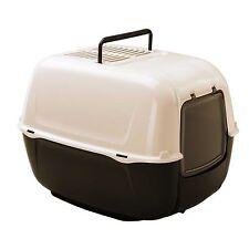 Litter Box Tray Pet Cat Dog Tray Handle Swing Door Ferplast Prima Carbon Filter