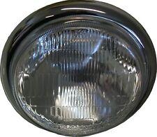 "Headlight Complete Side Mount Chrome Bates 5.75"""