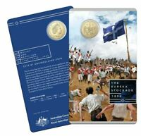 2019 EUREKA STOCKADE Coin on Card