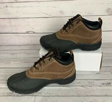 LL BEAN Women's Storm Chasers Sz 8 M Lace-Up Ankle Waterproof Shoes Hiking Suede