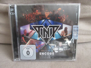 TNT: ENCORE LIVE IN MILAN CD / DVD DELUXE EDITION TONY HARNELL OUT OF PRINT