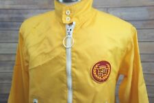 Vintage 70's/80's Cadillac Yellow Promo Advertising Nylon Racing-Style Jacket S