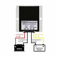 Waterproof 36v48v To 12v 25a Step Down Dcdc Power Converter Regulator Ip68