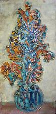 L.D. BJÖRN (1907-1989) HsP 70s Ecole de Paris Jeune Peinture Expressionnisme