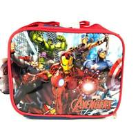Marvel Avengers Cartoon InsulatedSchool Lunch Bag with Adjustable Strap