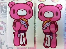 GLOOMY BEAR *NEW*Choke Boy cute stickers decals bumper window computer vinyl x 2
