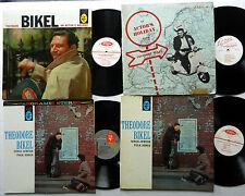 THEODORE BIKEL lot of 13 LPs Folk Singer #7009
