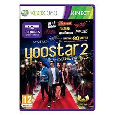 Yoostar 2-en las películas (xbox 360) Kinect es necesario-Nuevo Y Sellado