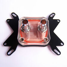 Computer PC CPU Water Cooling Block Copper Liquid Cooler Intel AMD Radiator W16