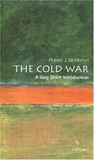 The Cold War A Very Short Introduction Robert J. McMahon paperback 2003