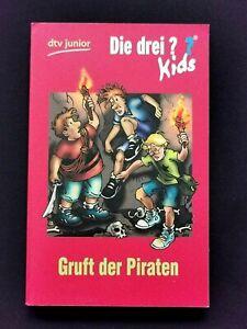 Die drei ??? Kids Gruft der Piraten Buch ab 8 Jahre KOSMOS Die drei Fragezeichen