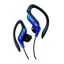 JVC HA-EB75 BLUE SPORTS ADJUSTABLE EAR CLIP EARPHONES HEADPHONES GYM RUNNING