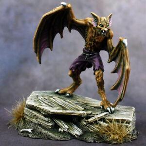 Reaper Dark Heaven Legends 03791 Werebat Monster Undead Vampire Coffin Grave D&D