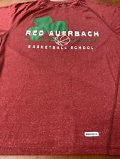 Reebok Speedwick Boston Celtics Red Auerbach Basketball School Men's T-Shirt S