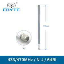 433MHz 470MHz Wifi Antenna N-J 6dbi Fiberglass Omnidirectional Antenna Aerial