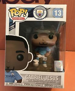 Manchester City Pop! Football Vinyl Figure - Gabriel Jesus #13  *BRAND NEW*