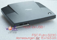 THINCLIENT MINI PC FSC FUTRO A230 TR2350 S26361-K525-V230 GIGABIT LAN RS 232 USB
