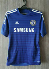 ADIDAS CHELSEA FC 2014-2015 Training Top Football Soccer Shirt Jersey Size M