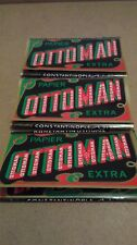 3 PACKETS OF RARE COLLECTORS OTTOMAN UNGUMMED CIGARETTE PAPERS