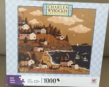 """CHARLES WYSOCKI PUZZLE  """"HAVING A WHALE OF A GOOD TIME"""" 1000 pcs"""