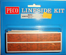 Peco LK-66 PLATFORM EDGING RAMPS  BRICK- OO/HO Gauge