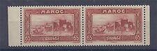 Maroc - 1930-31 - Y&T n° 140 - paire neuve** issue du carnet de 20 timbres Rabat