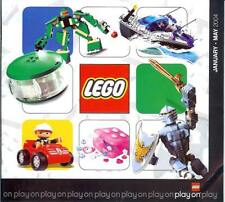 Lego 2004 JAN 36 page catalogue Racers Bionicle Duplo Star Wars Spiderman