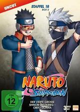 Naruto Shippuden-Staffel 18 Box 2  Komplett w. Neu!!!   (DVD)