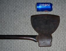 antique Yankee Style Felling Axe W:ADAMS old tool