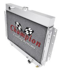 3 Row BC Champion Radiator (PS Notched) for 1963 - 1968 Chevrolet Impala