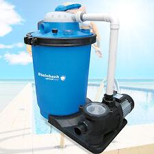 Premium Hybrid Sandfilteranlage für Pool bis 61m³ Sandfilter Filter Filterkessel