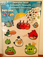 Angry Bird Decorative Decals/Wall Stickers Removable/Reusable/Quick/Easy - NEW