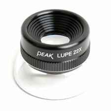 Peak Loupe Magnifier Lupe #1964 22× JAPAN