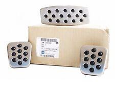 ORIGINAL Opel GM OPC LINE Sport Pedals Stainless Steel Set Aluminium 13301696