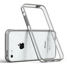 Bumper für Apple iPhone 5C Case Wallet Schutz Hülle Cover Hellgrau