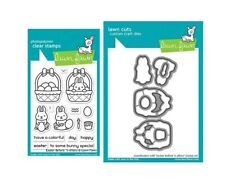 Lawn Fawn EASTER BEFORE 'n AFTERS Clear Stamp and Die Set LF2230 & LF2231