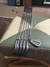 Tommy Armour 845s Silver Scot Iron Set 3,4,6,7,8,9 Tour Step Regular Steel RH !!